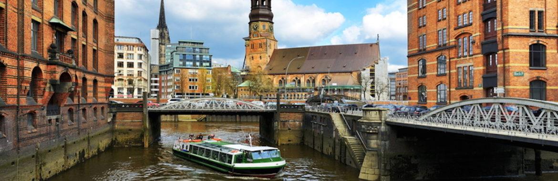 Die Elbe und der Hafen im Blick